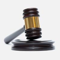 Judge's gavel | pursue debts lthrough legal channels